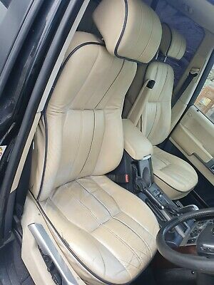 Range Rover leather seats