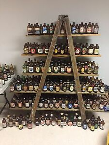 Vintage Beer Bottle Collection