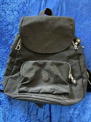 Great Kipling Backpack Bag Black Fabric