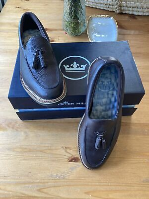 Peter Millar Mens Crown Tassel Loafer size 10.5