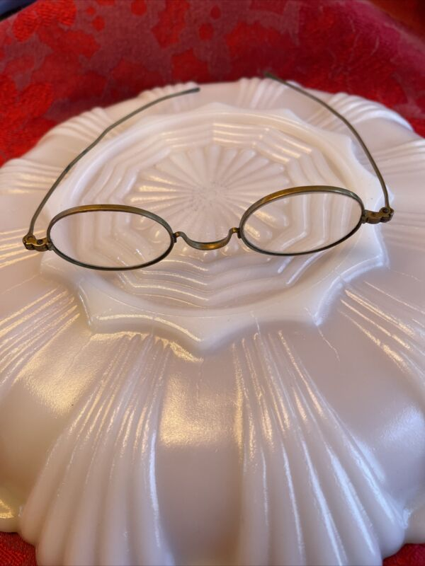 Antique Nickel on Brass Spectacles