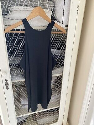 Nike Dri Fit Black Vest Running Fitness Size L 14 16