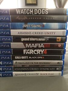 PS4 games for less