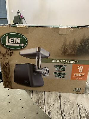 Lem Products 1224 8 Countertop Grinder Open Box