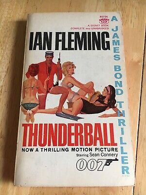 Thunderball by Ian Fleming (Paperback) James Bond