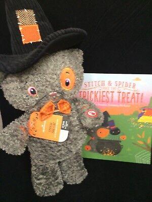 Hallmark Halloween 2017 Plush Stitch the Cat and Book - Halloween 2017 Script