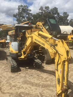 3.5 ton new holland excavator