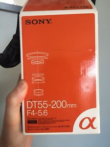 Sony a mount Dt55-200 mm