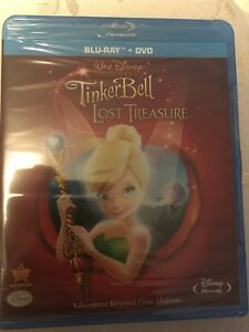 Tinker bell and the lost treasure (blu-day/DVD combo)