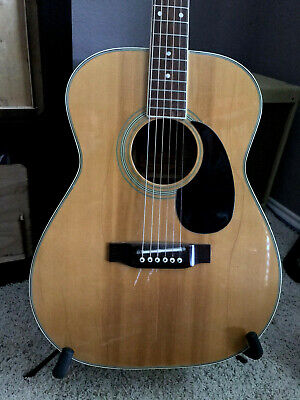 Vintage Maple Alvarez Guitar - Model 5038 - Natural Relic - Sounds Amazing!