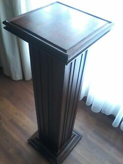 SOLID VINTAGE PEDESTAL!!! Greenwith Tea Tree Gully Area Preview