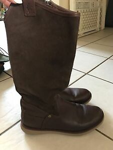 WOMENS SUEDE & LEATHER BOOTS