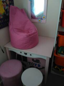 Childrens Kids Table Chairs Bean Bag Etc