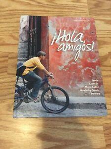 Hola amigos book , Spanish