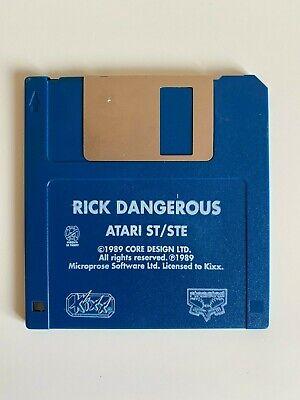 Rare Atari ST Game - Rick Dangerous - Disc Game Only - VGC - Free P&P