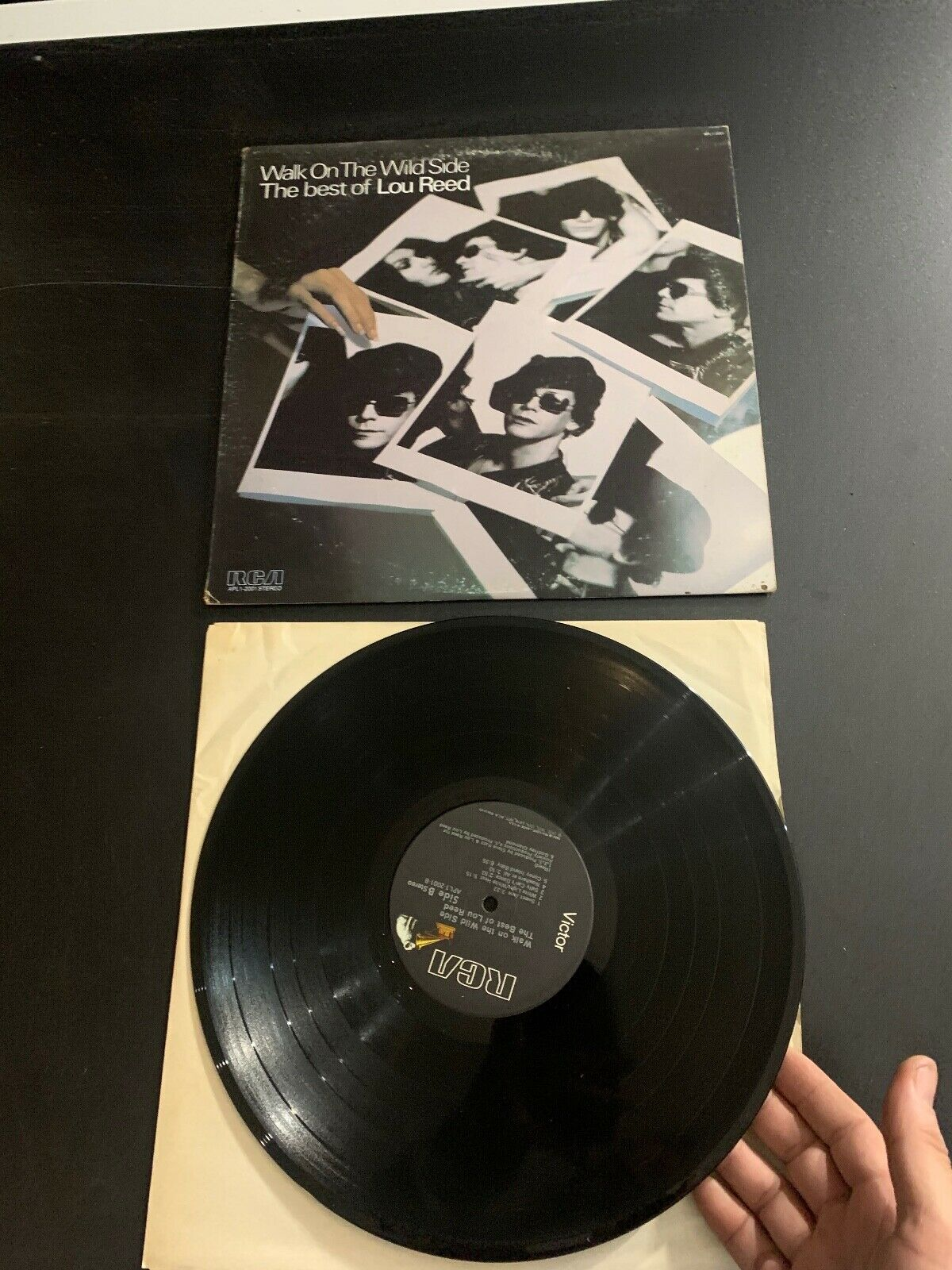 LP RECORD - LOU REED - WALK ON THE WILD SIDE THE BEST OF - RCA RECORDS  - $9.99