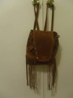 small brown fashion back pack (bag),cheap Mount Gravatt East Brisbane South East Preview