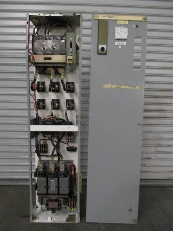 "Siemens Tiastar Furnas 89 Size 5 Starter 400 Amp Fused 60"" MCC Bucket 480V Coil"