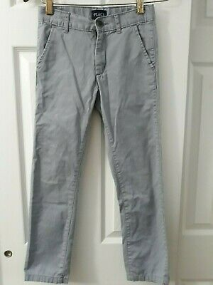 Skinny Pants Shoes - THE CHILDREN PLACE GRAY SIZE 8 SKINNY  PANTS