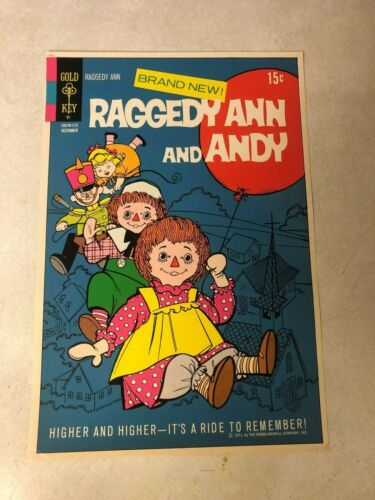 RAGGEDY ANN and ANDY #1 Art Original Approval Cover Proof 1971 GOLD KEY