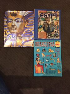 Tutankhamun and Egypt books Greenwith Tea Tree Gully Area Preview