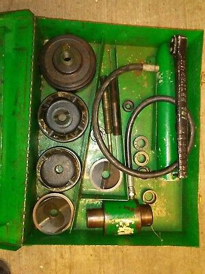 Greenlee Hydraulic Knockout Set