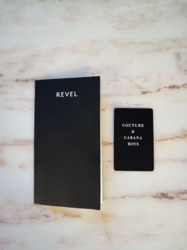 Defunct Revel Casino Atlantic City Key Card and Promotional Mailers