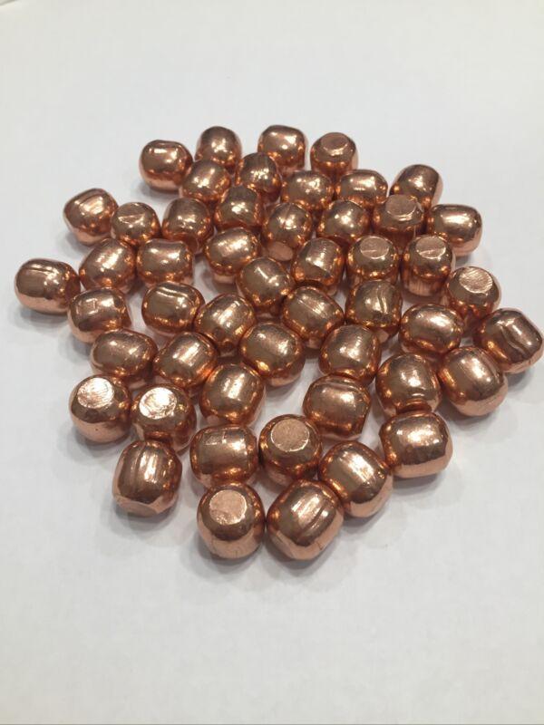 "50x 1/2"" Half Inch Pure Copper Spheres Balls Beads"