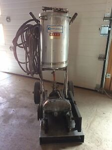 Gas powered commercial sprayer