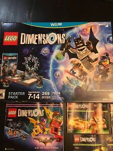 Wii U lego dimensions and many add on packs