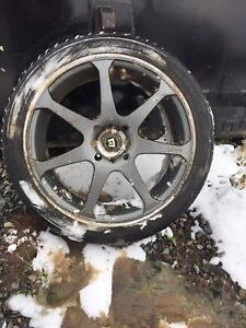 Tires and custom rims for sale