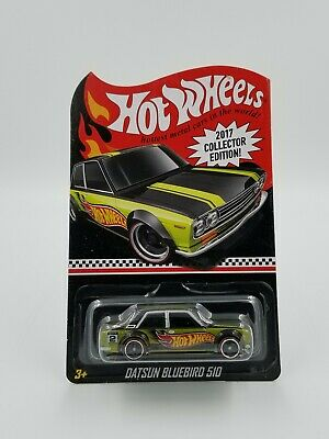 Hot Wheels 2017 RLC Datsun Bluebird 510 Collector Edition with Real Riders!