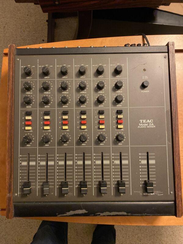 TEAC Model 2a Audio Mixer