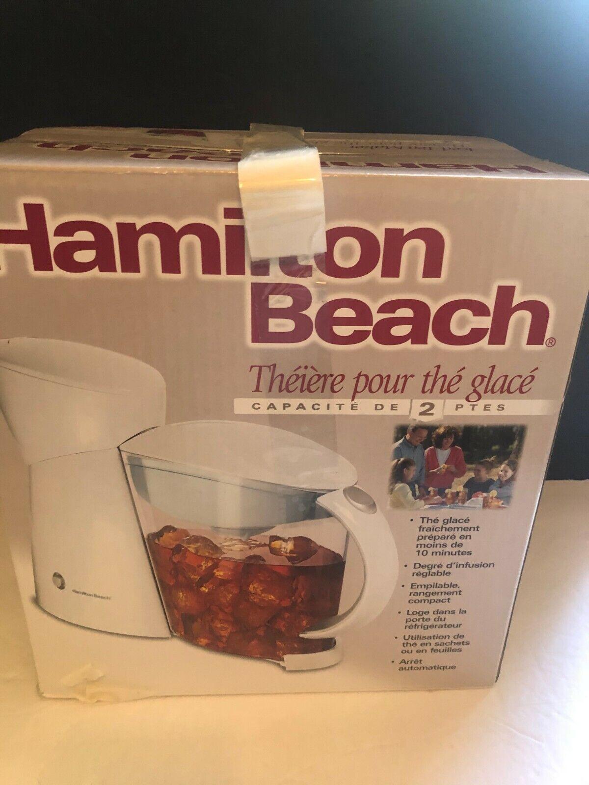 Hamilton Beach 40911 Ice Tea Maker - 2 quart Capacity