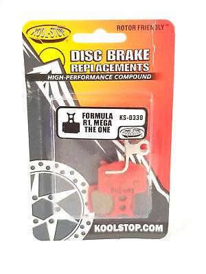 KOOL STOP KS FORMULA MEGA/THE ONE ORGANIC KS-D330 MOUNTAIN BIKE DISC BRAKE PADS