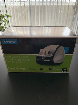 Dymo Labelwriter 450 Turbo Label Thermal Printer - Black 1752265