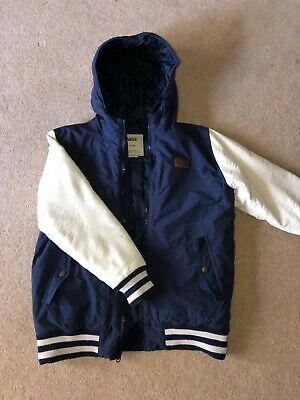 VANS boys Rutherford Padded Jacket Size X-Large