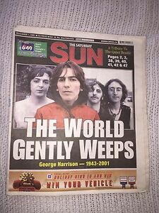 George Harrison (1943 - 2001) The Workd Gently Weeps