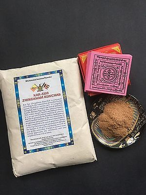 Nepal Buddhist Monk College Medicine Pure Natural Incense Powder With Mantra