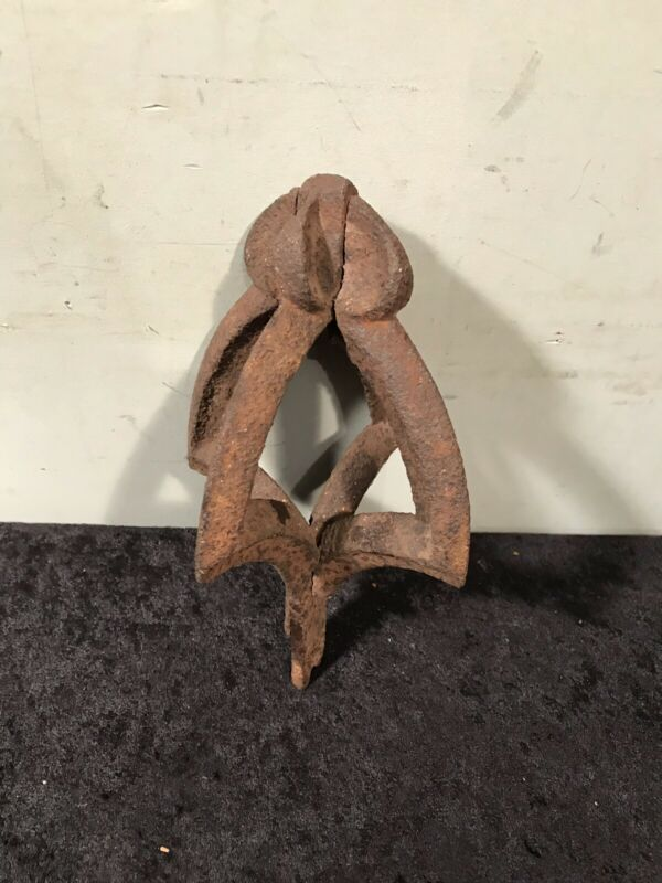 Old Cast Iron Fence Or Post Finial -Architectural Salvage-
