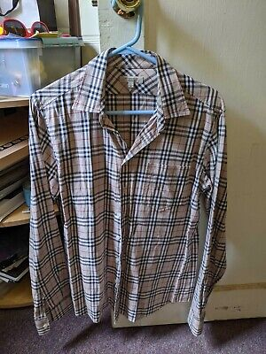 Burberry Button Down Long sleeve