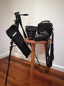 Canon EOS 500D w. 2 lenses, tripod and accessories Lutwyche Brisbane North East Preview