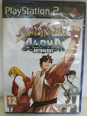 Street Fighter Alpha Anthology PS2 NEW