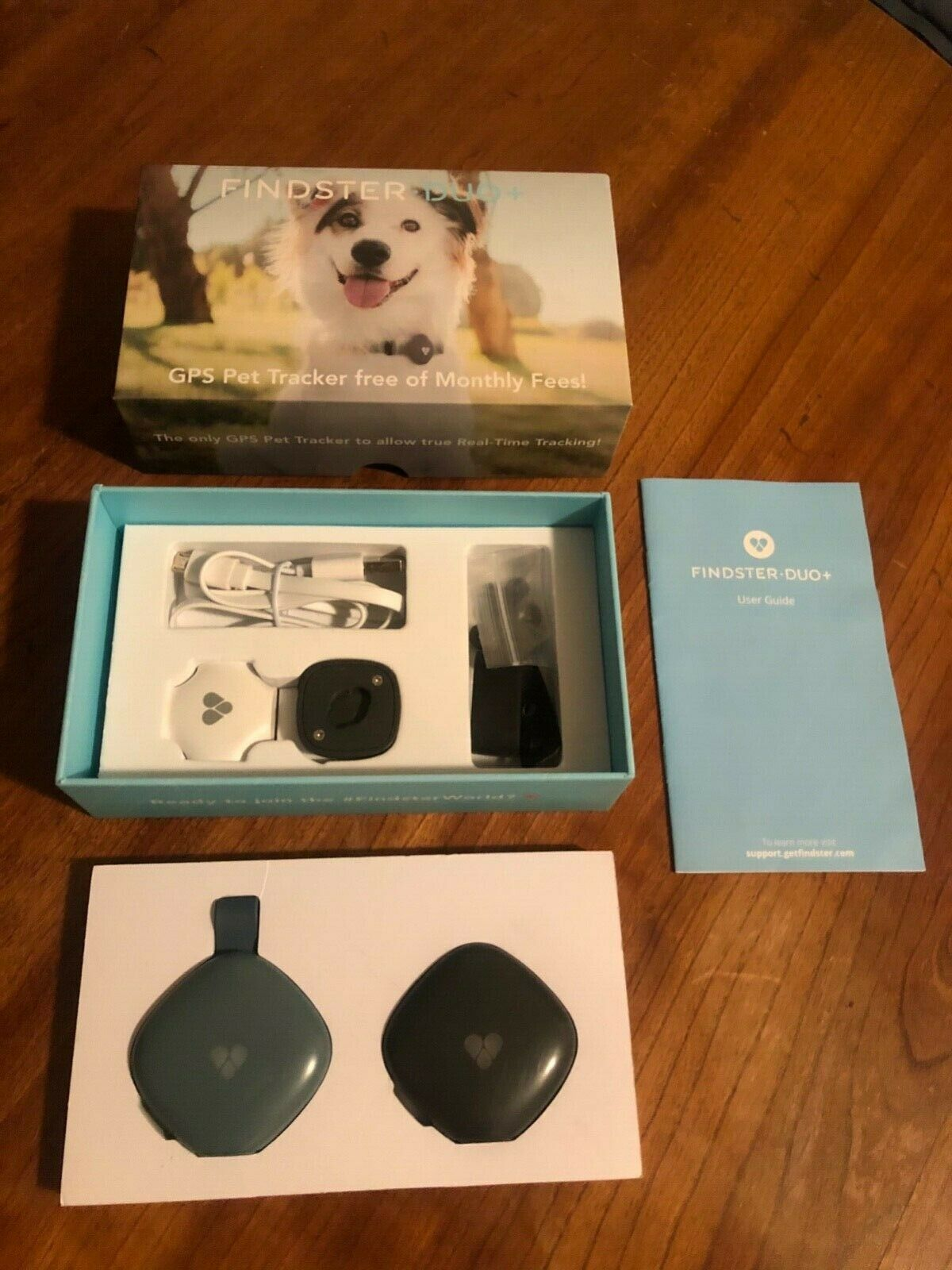 Findster Duo GPS Pet Tracker For Dogs And Cats - Free Of Monthly Fees - $56.00