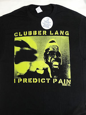 Rocky Clubber Lang Mr T I Predict Pain Black Movie T Shirt