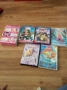 Lot de dvd barbie