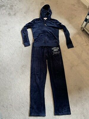 JUICY COUTURE TRACKSUIT-navy