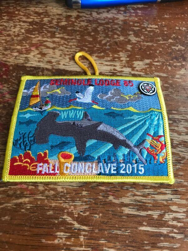 Seminole Lodge #85 2015 Fall Conclave OA Order of the Arrow Hammerhead CG-1127C