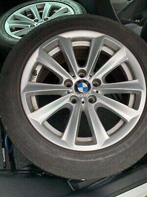 """BMW 5-SERIES F10 17"""" ALLOY WHEEL & TYRE 10-SPOKE 225/55/17 2010-2016 (REF 1)"""