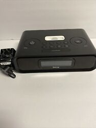 iHome iP99B AM/FM Dual Alarm Clock Radio for iPhone and iPod 30 Pin Tested